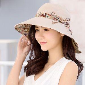 544ae91cf75da Accessories - Womens Sun Hat Summer UV Protection Beach Hat